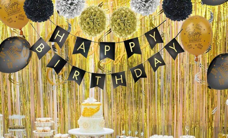 7 kits de decoración para organizar una fiesta de cumpleaños de último minuto