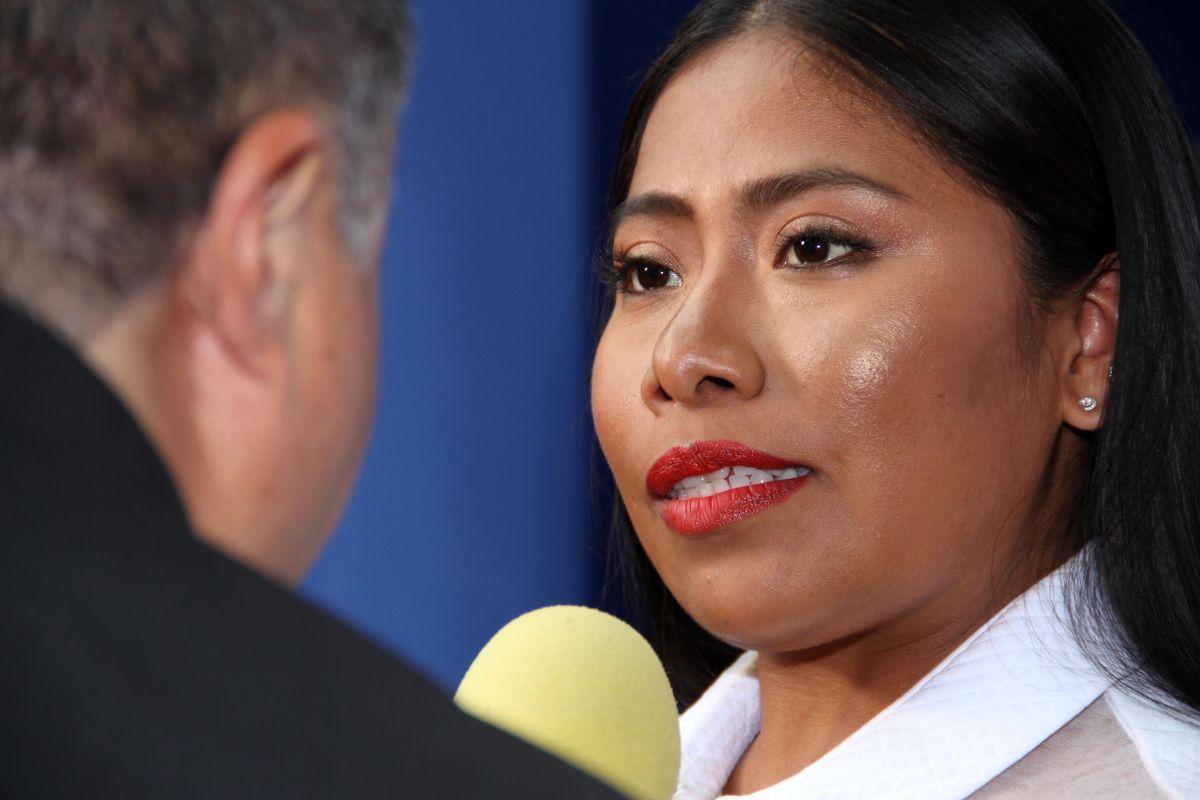 Yalitza Aparicio habla claro para Despierta América, en la gala anual de la 'Esclavitud a la Libertad'
