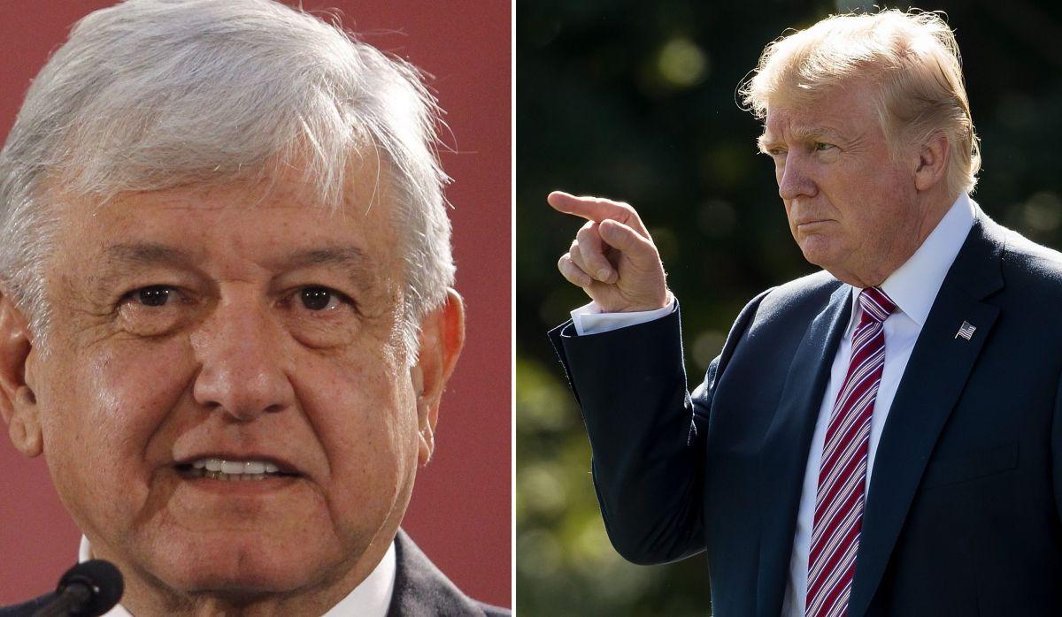 """Trump le sigue haciendo """"bullying"""" a AMLO a pesar de acuerdo migratorio"""