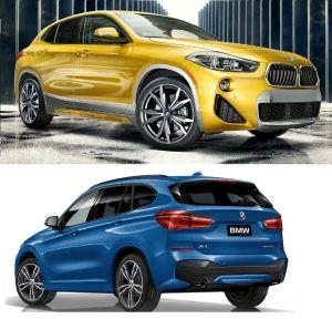 BMW X1 2019 vs BMW X2: ¿cuáles son las diferencias de estos fantásticos crossovers?