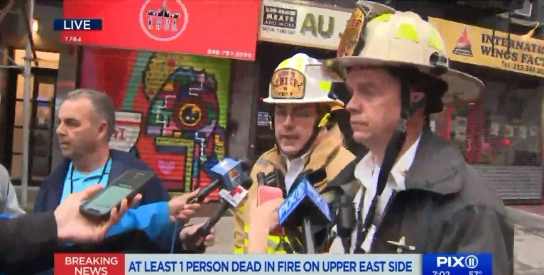 Anciana ex maestra muere al quemarse su hogar en Manhattan