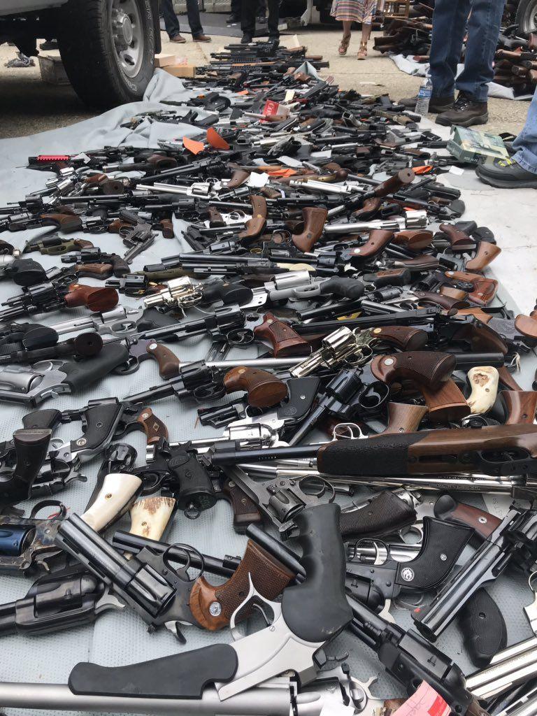 Las armas usadas en la mitad de los asesinatos en México vienen de EEUU