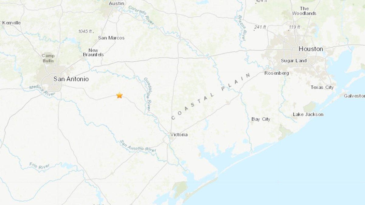 Sismo de 3.1 despierta a varias poblaciones en Texas