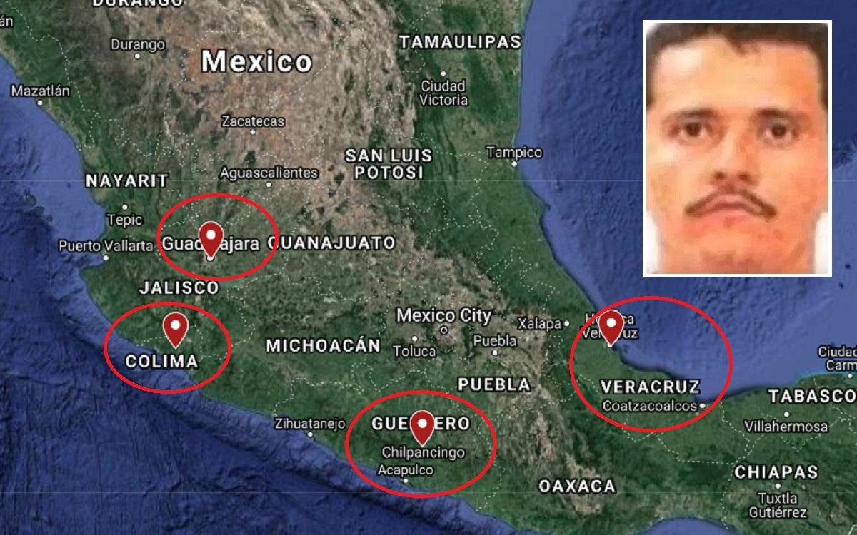 """""""El Mencho"""" y su CJNG avanza en México."""