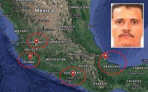 """""""El Mencho"""" y sus secuaces causan revuelo y preocupación en cortes mexicanas"""