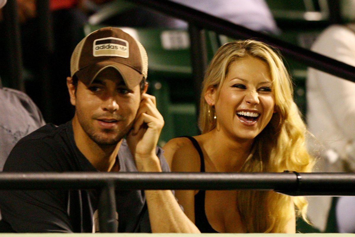 Enrique Iglesias reveló todo lo que tuvo que hacer para que Anna Kournikova no lo dejara