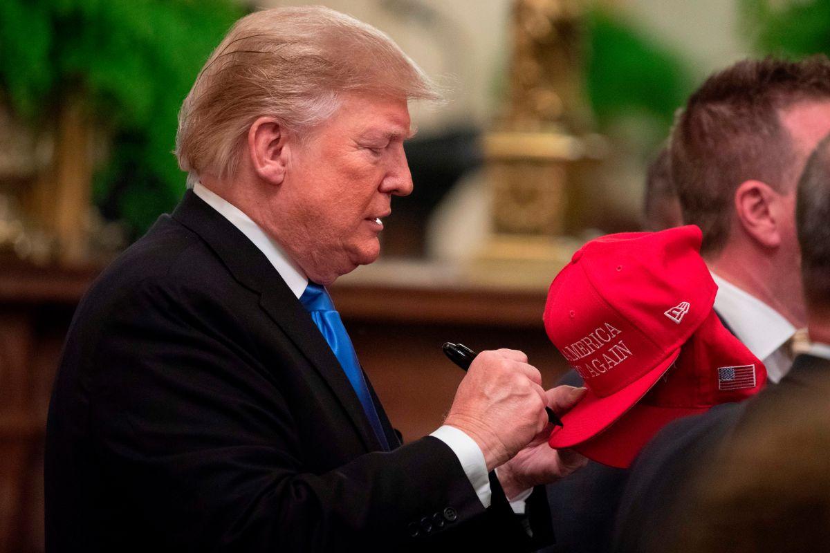 El premio que Trump tiene para uno de sus donadores