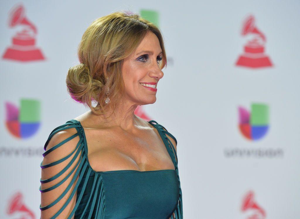 Lili Estefan dice que se viste de verde porque tiene esperanza