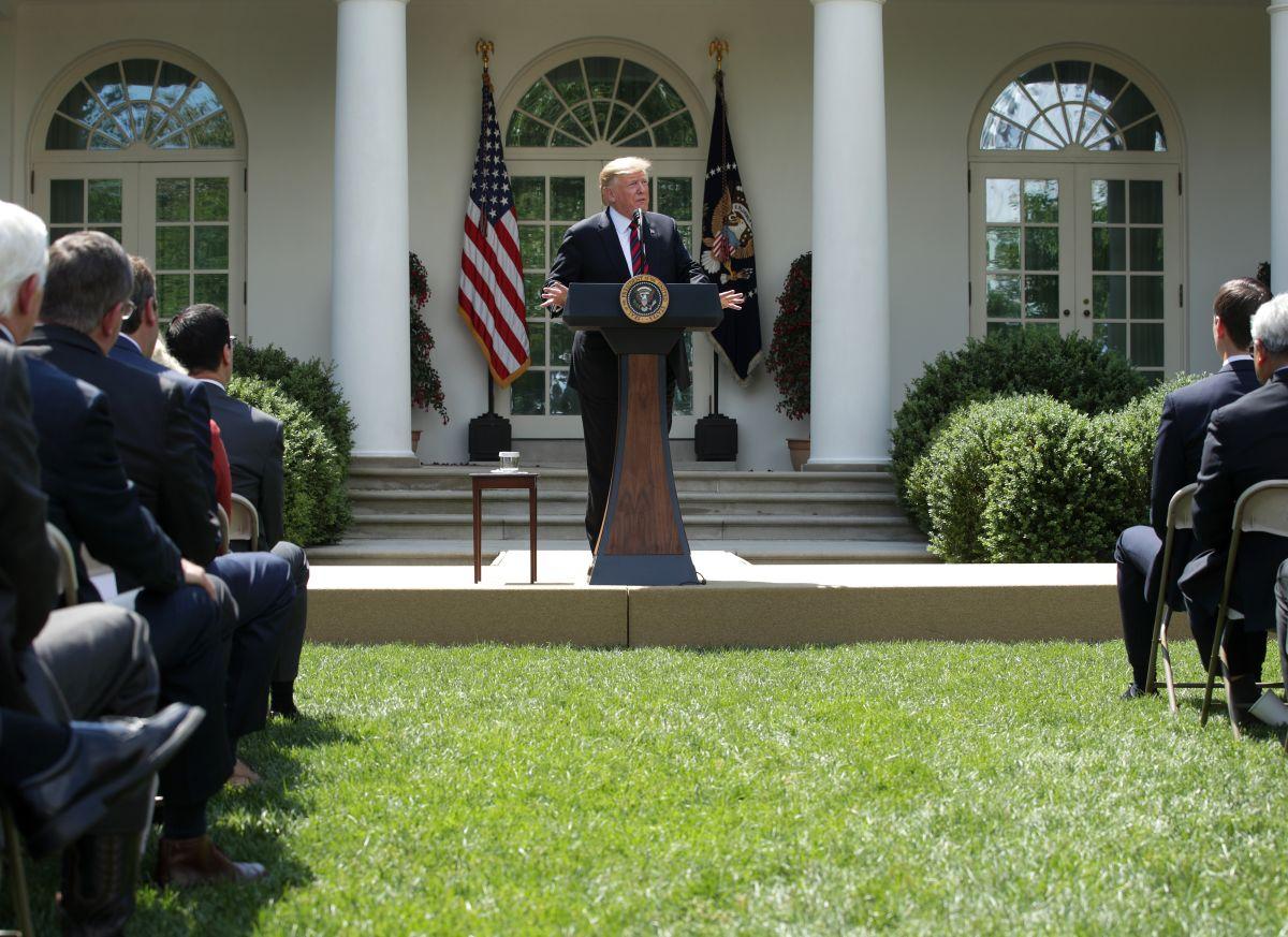 """Trump: """"Nuestro plan migratorio pone a trabajadores estadounidenses primero"""""""