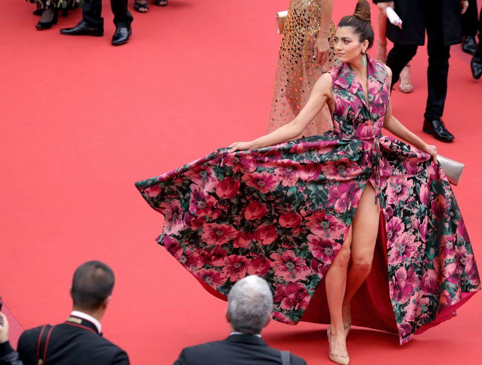 La actriz que acudió a los Óscar sin ropa interior expone, ahora, su entrepierna en Cannes