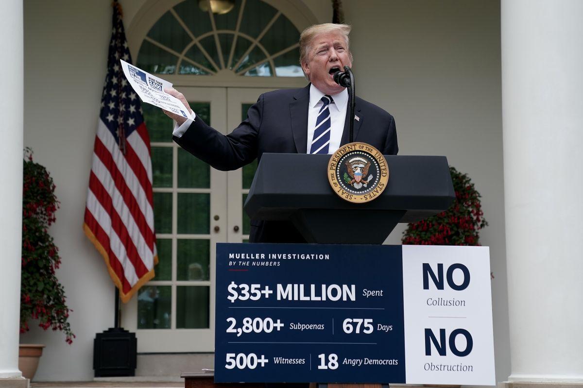 Trump cancela abruptamente reunión con demócratas y exige que dejen de investigarlo