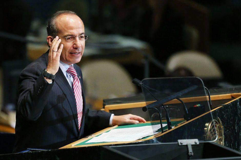 Calderón teme por la concentración de poder en el gobierno de AMLO