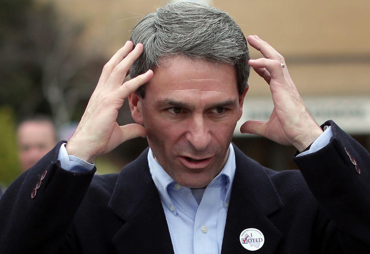 Ken Cuccinelli quiso ser gobernador de Virginia, pero perdió la elección en 2013