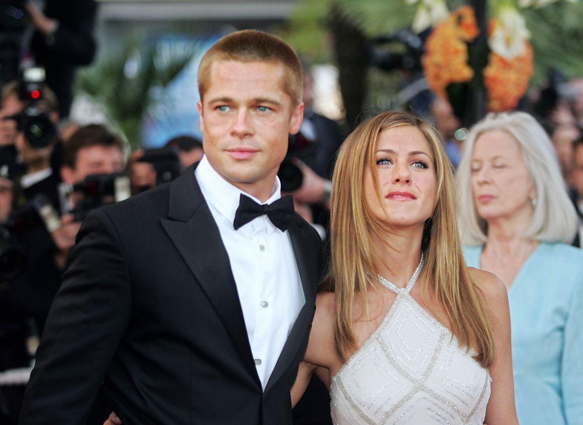 Brad Pitt reacciona a los rumores de romance con Jennifer Aniston