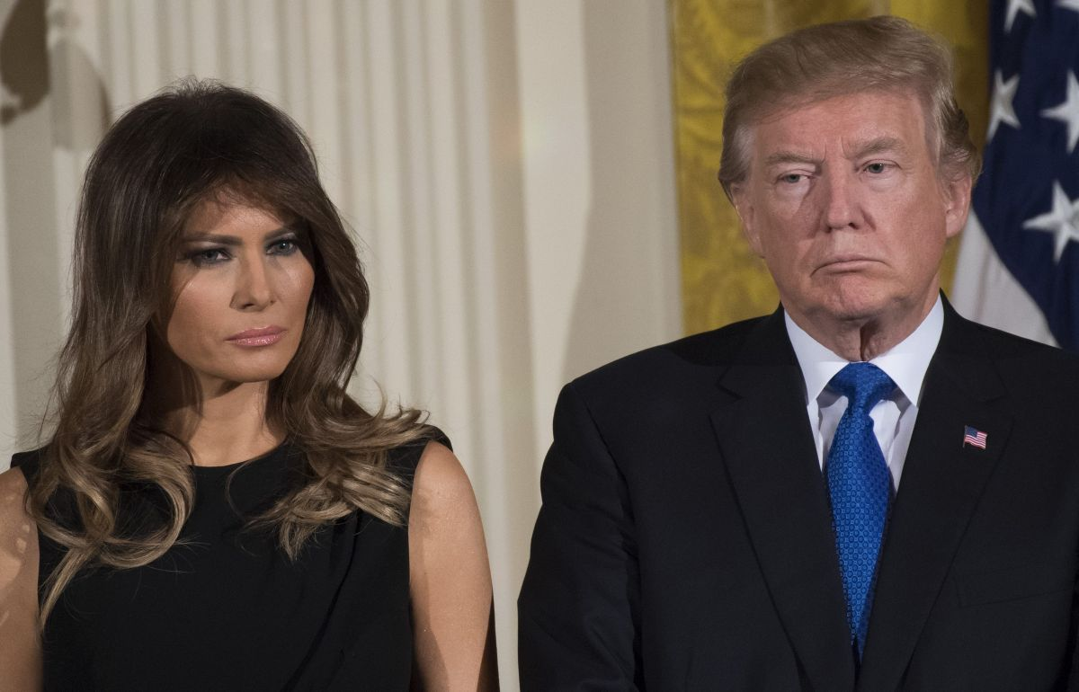 El lazo que Trump y Melania no podrían romper con multimillonario acusado de tráfico sexual de menores