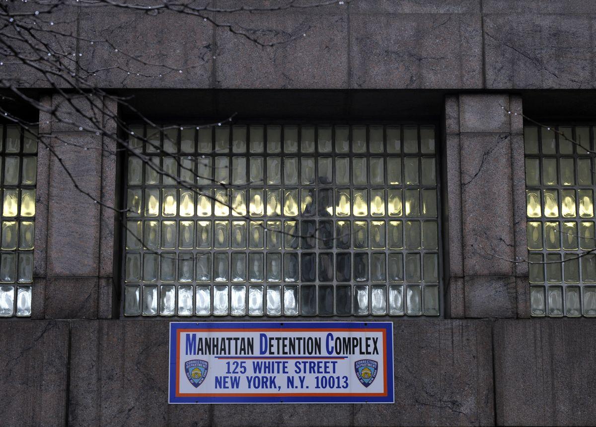 Manhattan Detention Complex(MDC).
