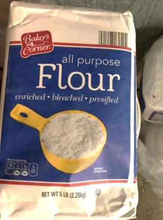 Retiran bolsas de harina de la marca Baker's Corner porque podrían estar contaminada con E. coli