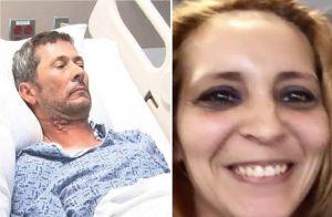 Inmigrante apuñaló a su esposa frente a sus dos hijos, intentó suicidarse y enfrenta deportación