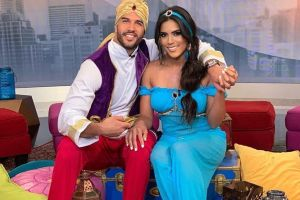 Francisca Lachapel se convirtió en Jasmine y Chef Yisus en Aladdin