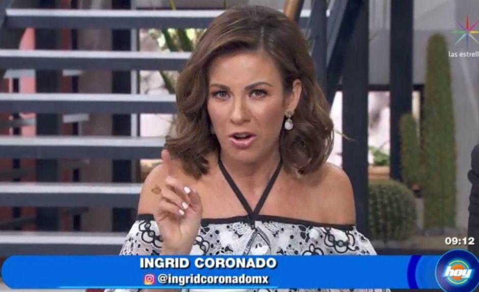 """Sucedió en """"Hoy"""" de Televisa: Ingrid Coronado y Andrea Legarreta juntas"""