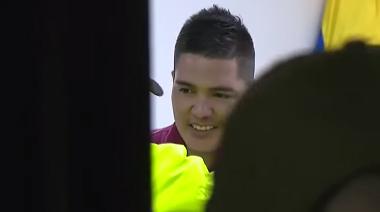 ¿De qué se ríe Juan Guillermo Valderrama, presunto asesino de su novia 24 años mayor que él en Colombia?