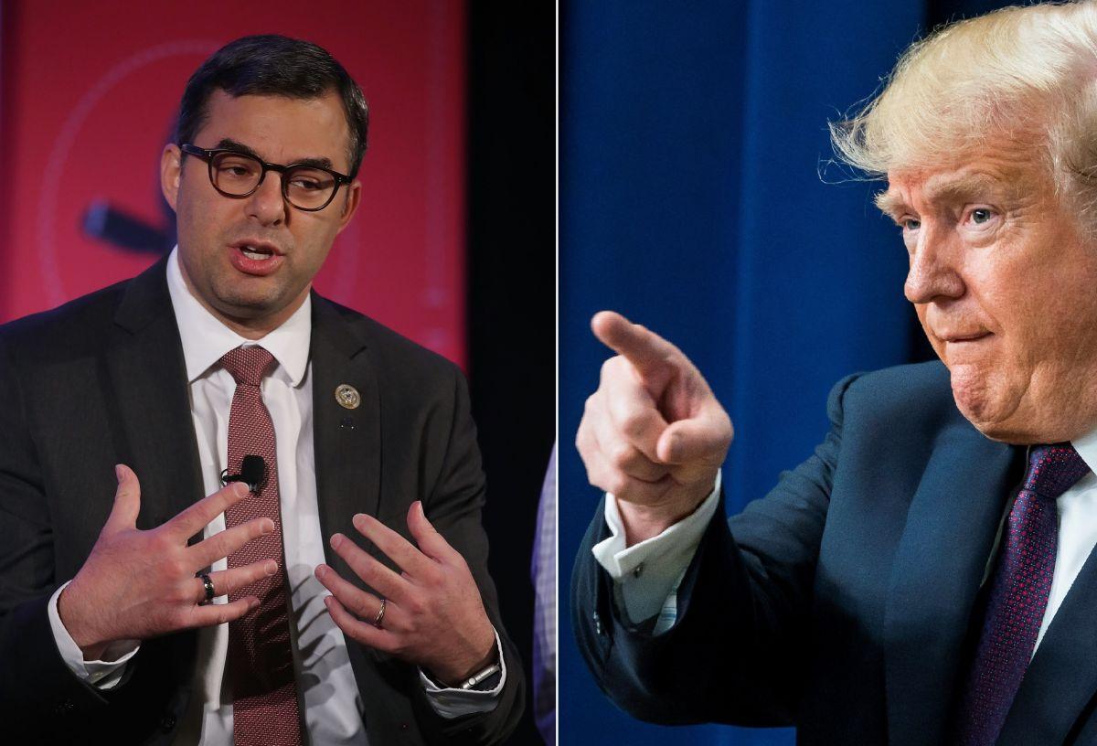 Trump enfurece con el primer republicano que apoya un juicio político en su contra