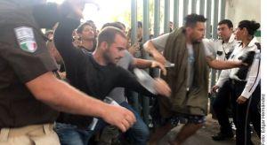 Guardia Nacional apoya a gobierno tras fuga de migrantes en estación de Tapachula, Chiapas