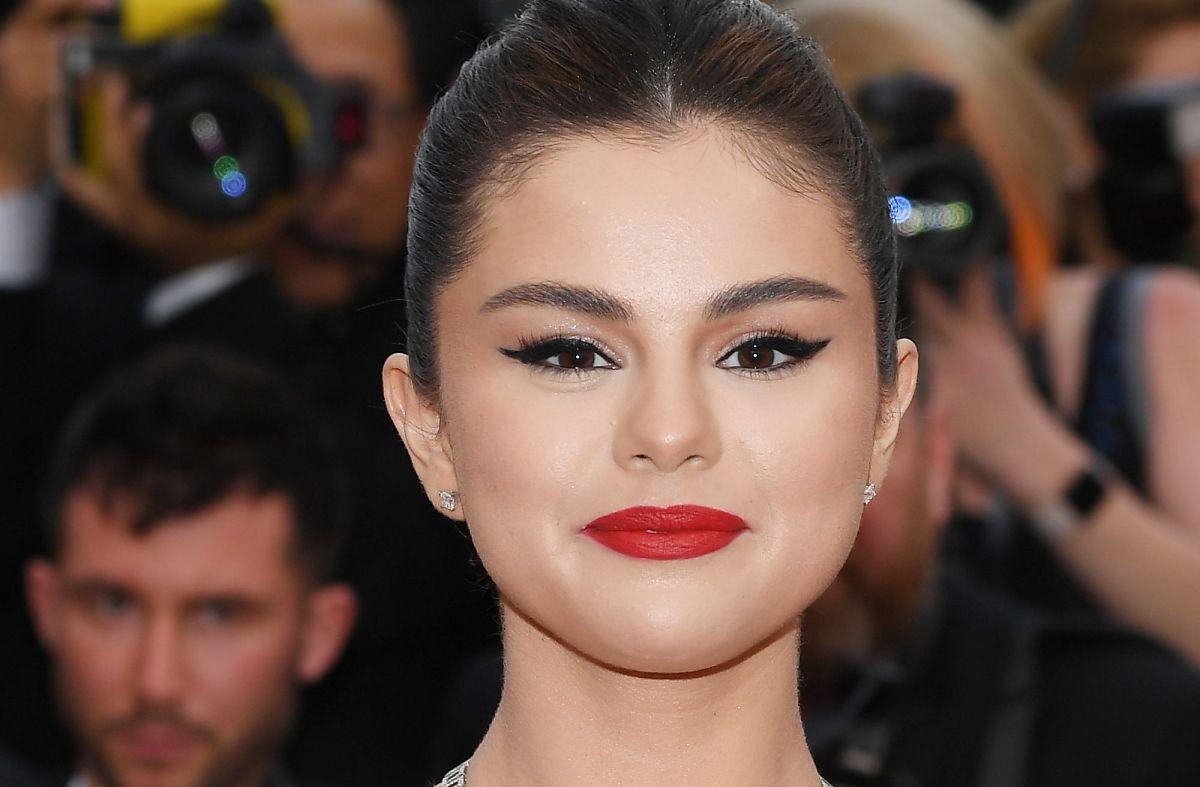 Selena Gomez en el festival de cine en Cannes.