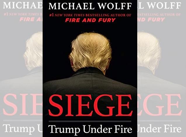 Revelan claves de 'Asedio: Trump bajo fuego', el libro que ya se espera sobre el presidente