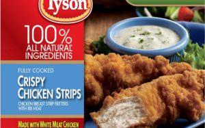 Tyson retira 12 millones de libras de tiras de pollo listas para comer