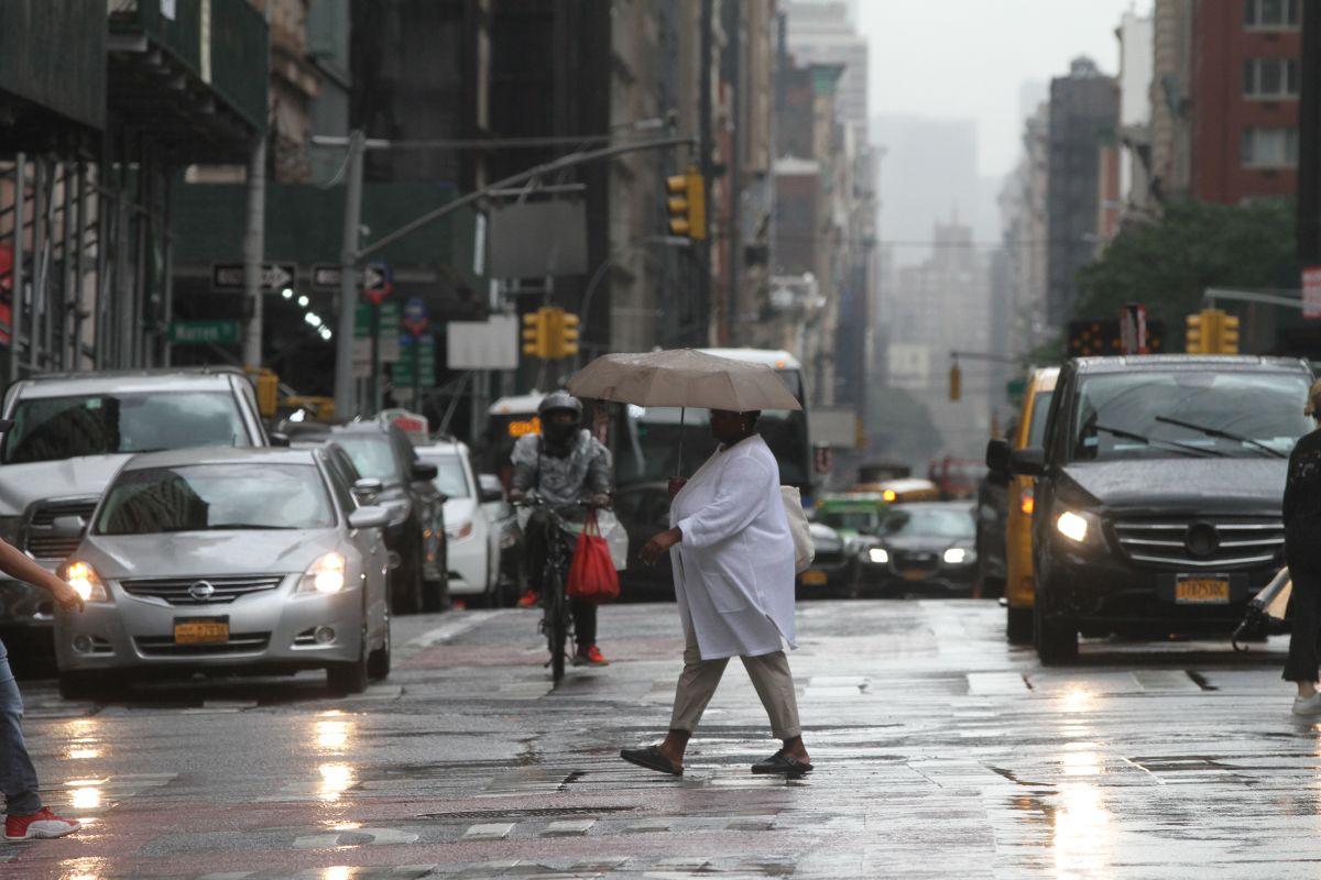 Tormenta con fuertes vientos impactará Nueva York a partir de esta tarde