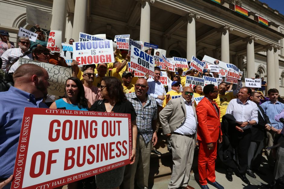 Crece la lista de agravios de los pequeños negocios de Nueva York