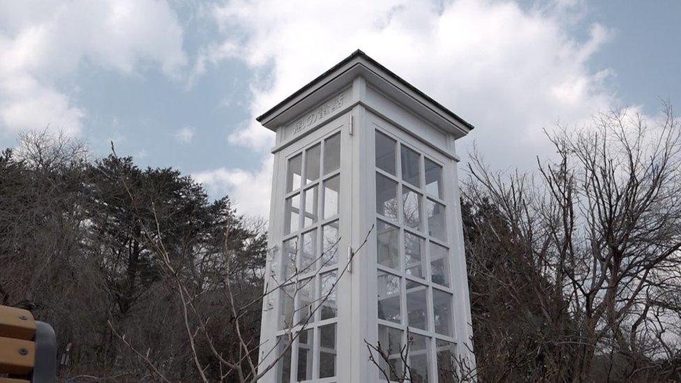 """La cabina telefónica en Japón para """"hablar"""" con los muertos"""