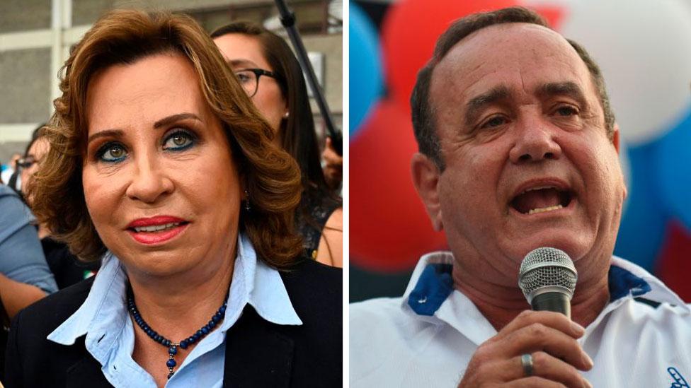 Torres y Giammattei, quiénes son los candidatos a la presidencia de Guatemala