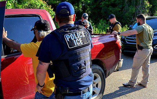 Regresan las redadas de ICE a cuatro estados del este de EEUU