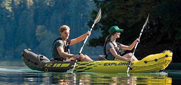 Los 3 mejores kayaks inflables por menos de $150 para tus vacaciones de verano