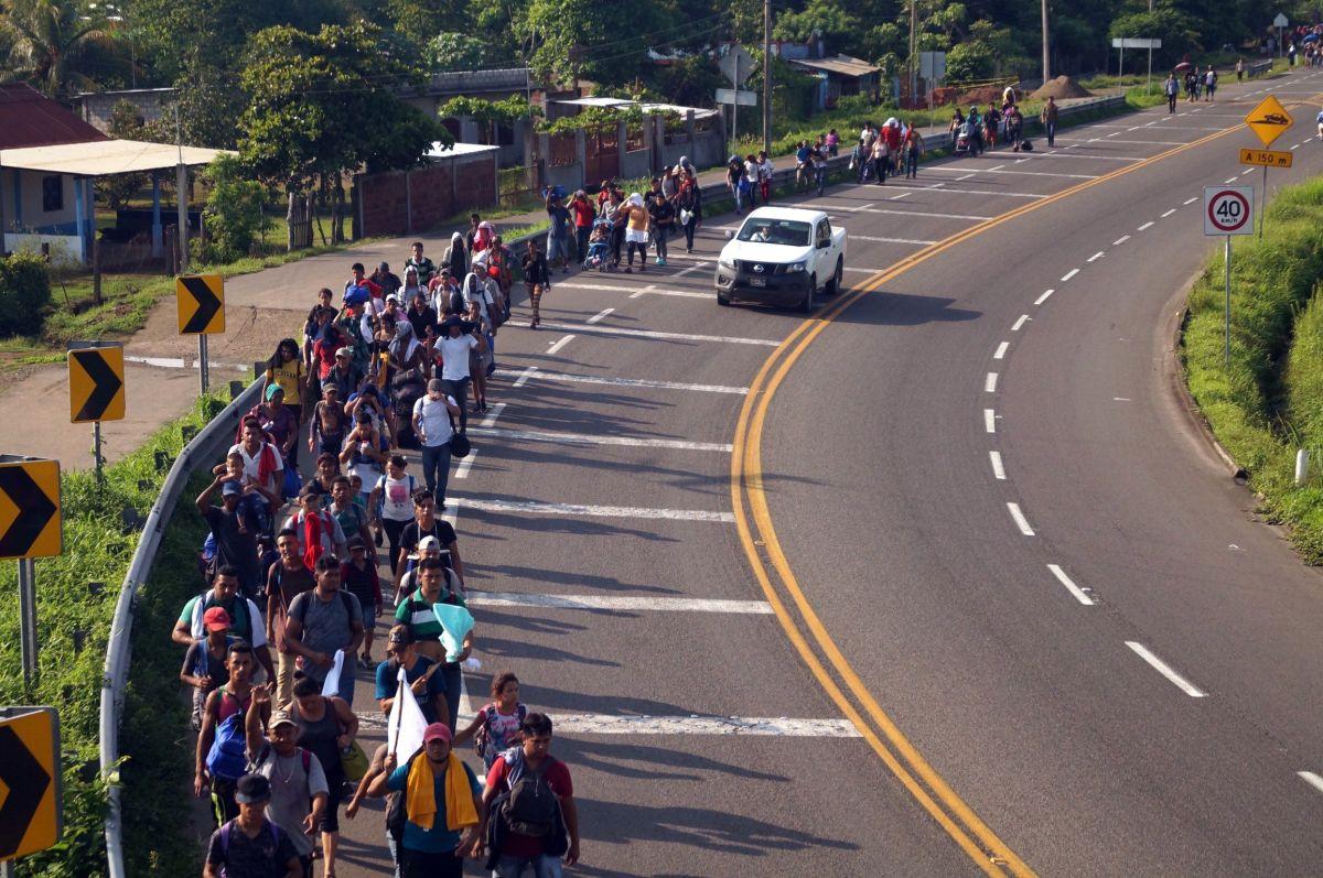 El objetivo es frenar el flujo de migrantes. EFE/ Carlos López