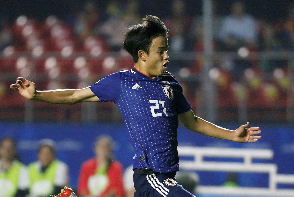 El japonés Takefusa Kubo es el nuevo fichaje del Real Madrid.