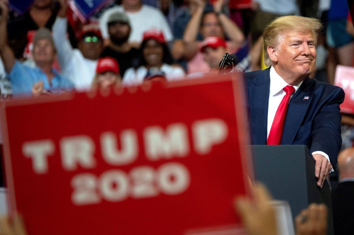 Más de la mitad de los hispanos de Florida se niega a votar por Trump en 2020