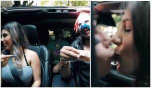 """La """"Chica Badabun"""", Lizbeth Rodríguez, besa a otra chica en la boca por 500 pesos"""