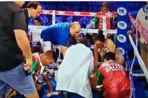 Video: boxeador es reanimado en el ring tras recibir tremendo nocaut