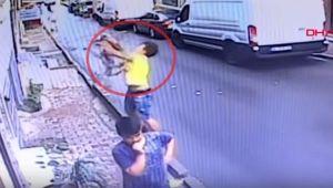 Niña de 2 años cae de una ventana y adolescente la salva de milagro