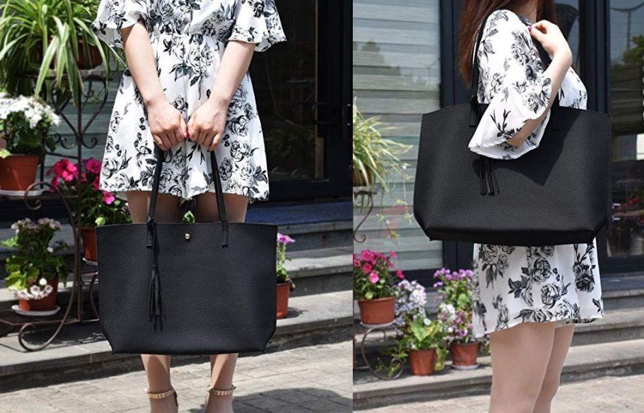 6 estilos de carteras negras que toda mujer debe tener en su closet sin gastar mucho