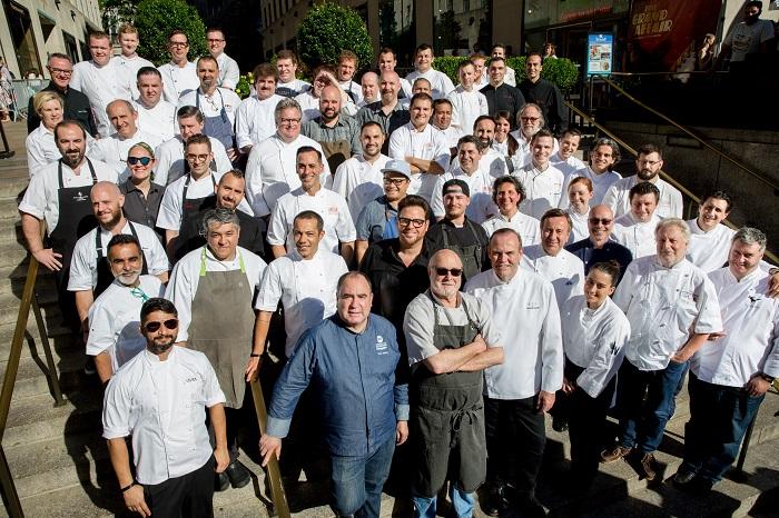 Decenas de chefs se juntan por una buena labor./Cortesía