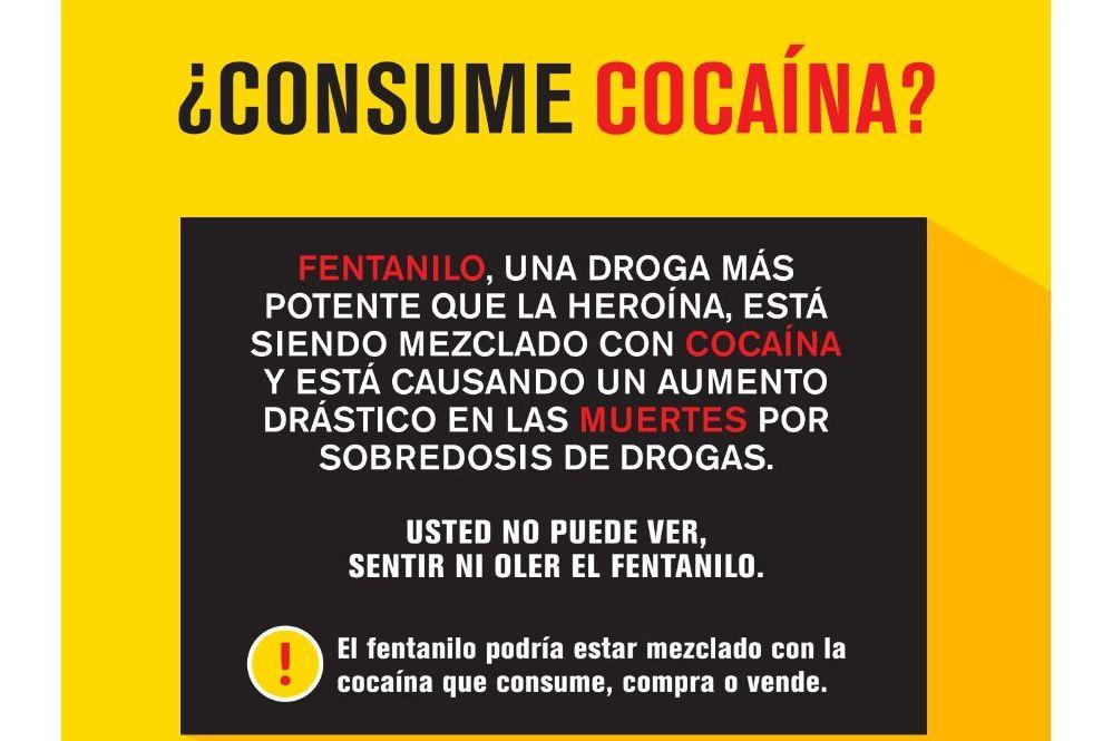 Refuerzan campaña para prevenir muertes por sobredosis con fentanilo en NYC