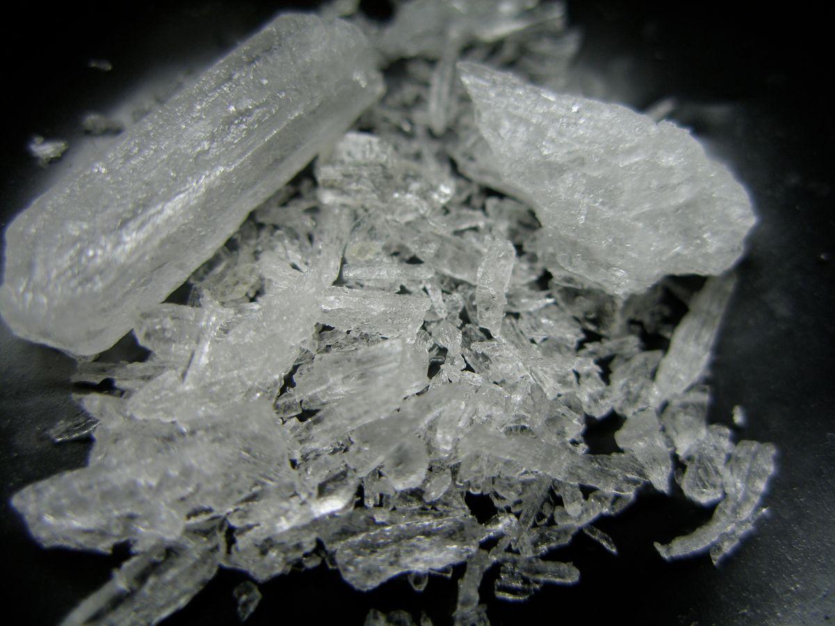 Metanfetamina cristalizada