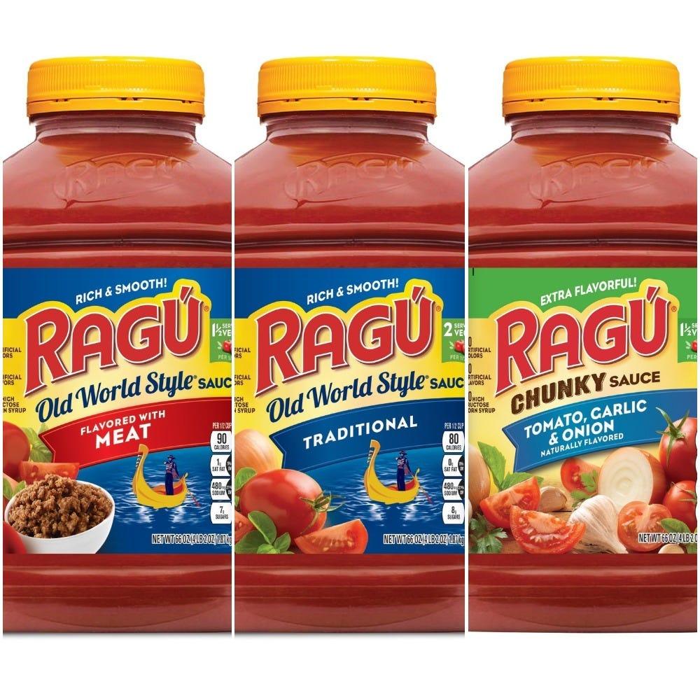 Anuncian retiro de varias salsas Ragú por tener plástico