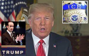 """El cerebro detrás de la """"mega operación"""" de Trump y ICE para deportar millones de indocumentados"""