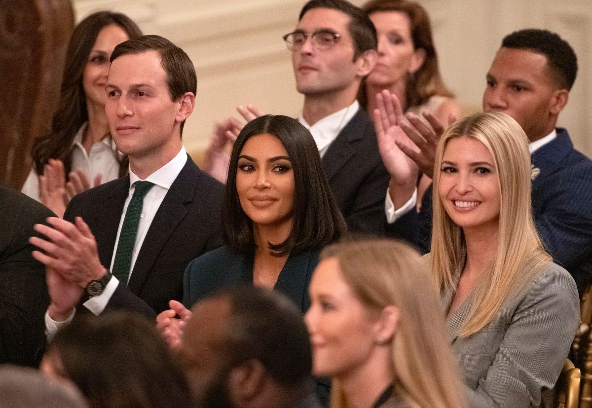 El agradecimiento público de Ivanka Trump a Kim Kardashian
