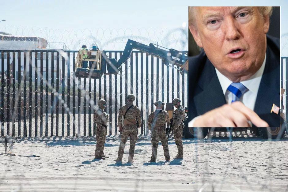 Buenas noticias para Trump y su muro fronterizo